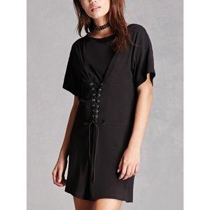 Dresses & Skirts - NWT Corset-style mini dress